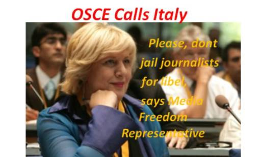 OSCE Calls Italy