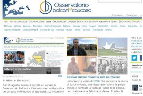 Osservatorio balcani