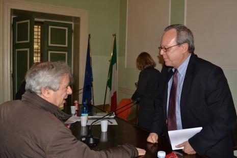 Alberto Spampinato e Frank La Rue