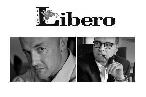 Gianluigi Nuzzi and Davide Giacalone