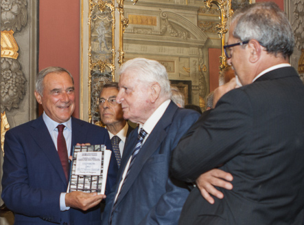 """Il Presidente Grasso incontra l'Associazione Stampa Parlamentare per la tradizionale """"Cerimonia del Ventaglio"""""""