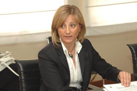 L'assessore regionale Gianna Pentenero