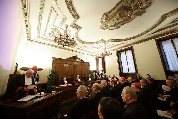 vaticano aula tribunale anno giudiziario