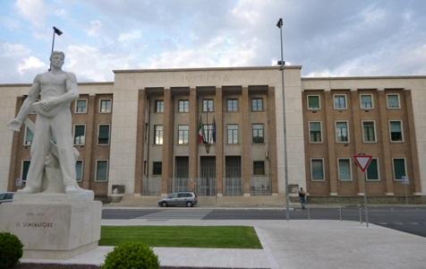 Il Palazzo di Giustizia di Latina