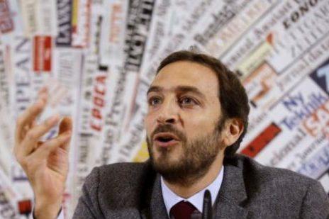 Il giornalista Emiliano Fittipaldi