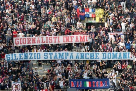 Striscioni stadio Dall'Ara