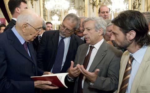 Ossigeno dal presidente Napolitano - 20 luglio 2012