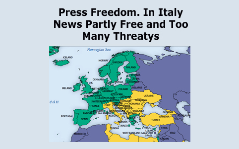 Press freedom in Italy