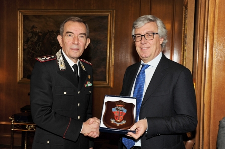 Il Gen. Gallitelli e Paolo Siani