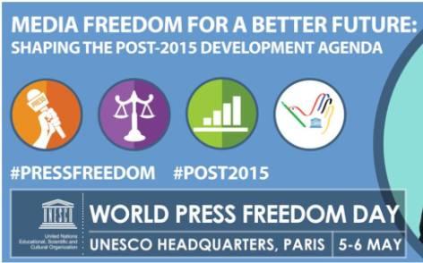 unesco world press freedom day