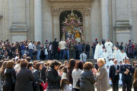 La processione di Oppido ©strettoweb.com