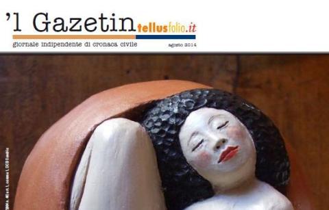 Copertina de Gazetindi agosto 2014 (particolare)