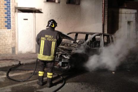 Auto di Gennaro Tedesco - Foto da ilfattodelgargano.it