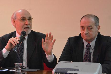 Enzo Iacopino e Paolo Pirovano - da www.giornalemetropolitano.it