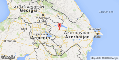 mappa Azerbaijan