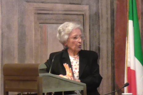 Luciana Alpi al Convegno di Ossigeno il 3 maggio 2017