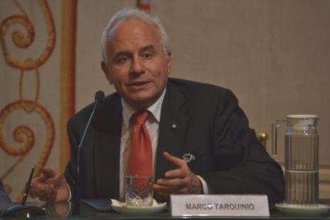 """Il direttore di """"Avvenire"""" Marco Tarquinio"""